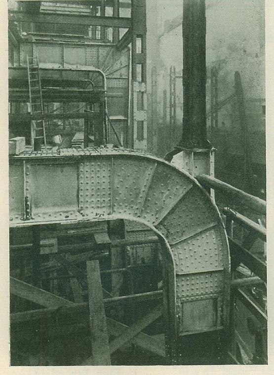 Abb. 23: Rahmenecke im Haus Suschitzky, Prag [Hawranek 1931, Abb. 139]