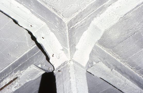 Abb. 35 Rechts oben im Bild Schalbrettabformungen ohne, links unten im Bild mit aufgelegtem Ölpapier (?)